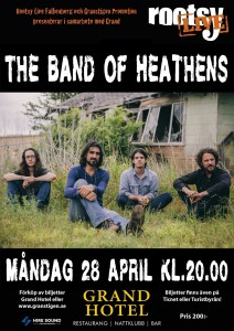 28/4 - The Band of Heathens