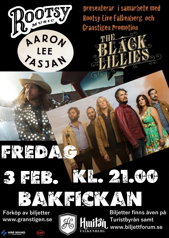 affisch-aaron_black-lillies