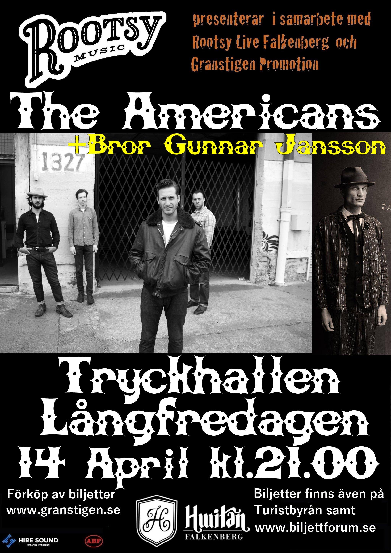 affisch Americans + BGJ